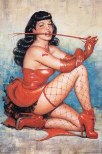 Betty Page inspire Maitresse Angelik