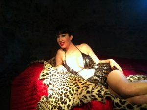 Maitresse Angelik Backstage Seance photo Mourthe