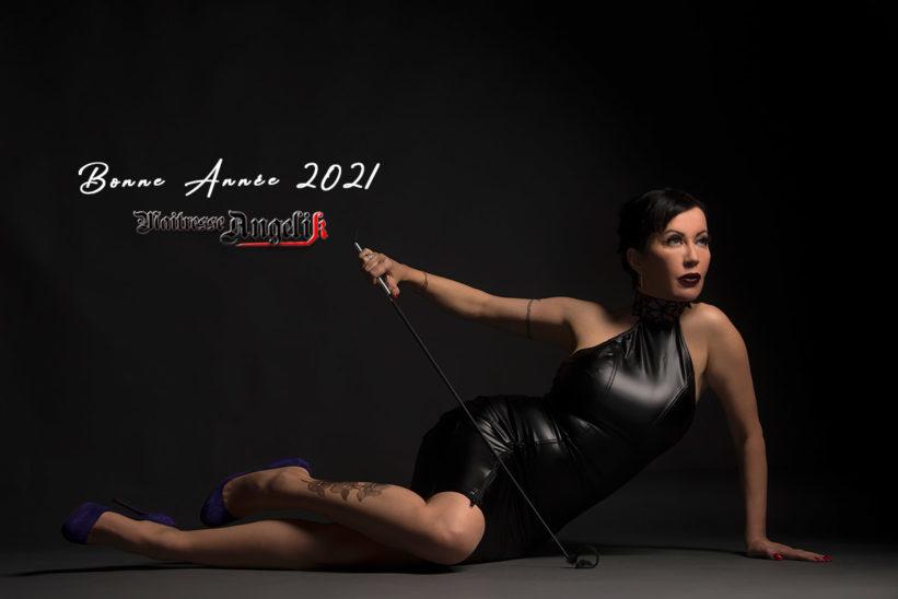 Voeux 2021 maitresse angelik dominatrice paris